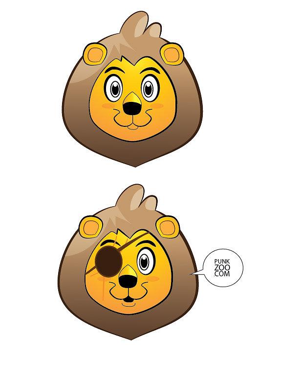 Punk Zoo Lion